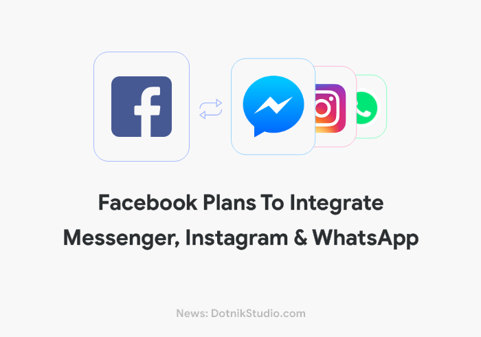 Facebook Merging Messenger Instagram Whatsapp