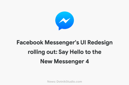 Facebook Messenger App UI Redesign