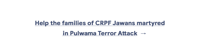 help contribute donations crpf family pulwama attack