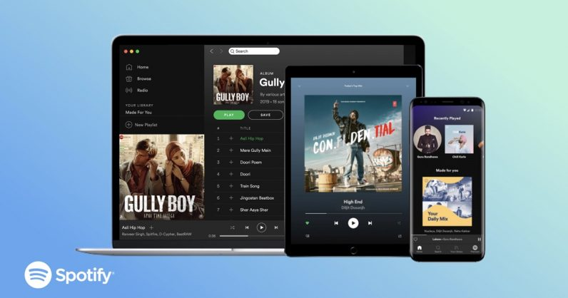 Spotify Launch in India